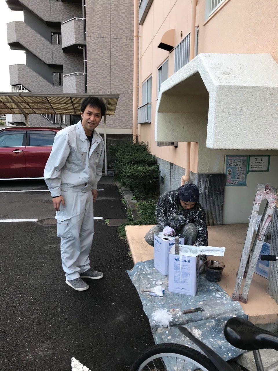 伊福サンコーポの補修をお願いしました,(有)須澤インテリアサービス