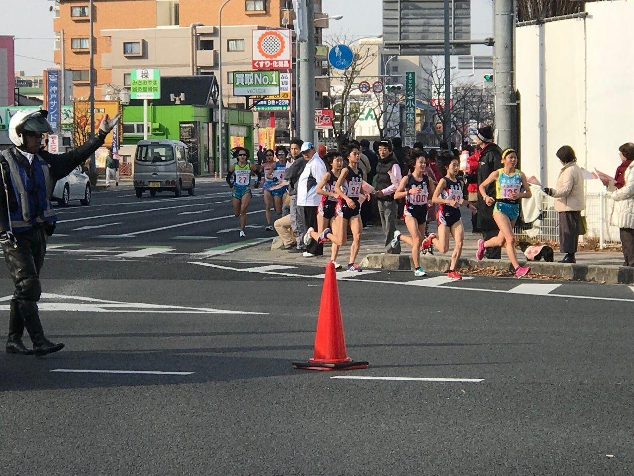 山陽女子ロードレース・大会新出る!