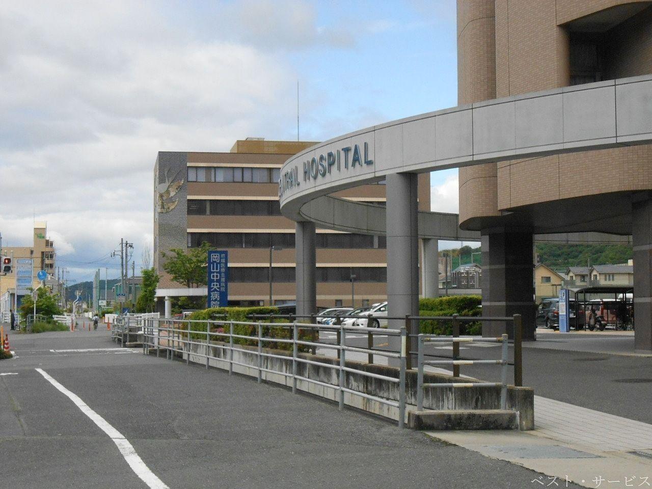 岡山中央病院・新たな棟建設始まる?