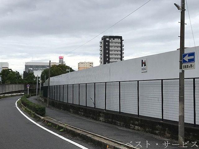 """昭和町""""遊プラザ""""跡地は、やはりマンション②"""