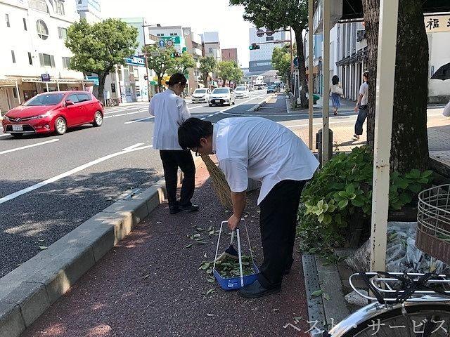 岡山市北区奉還町2丁目,福寿司本店,外来種カメムシの被害