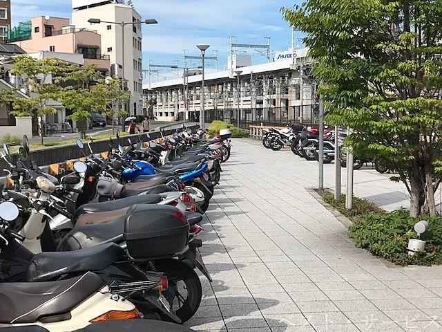 岡山駅西口第2自転車等駐車場,原付・自動二輪駐車場