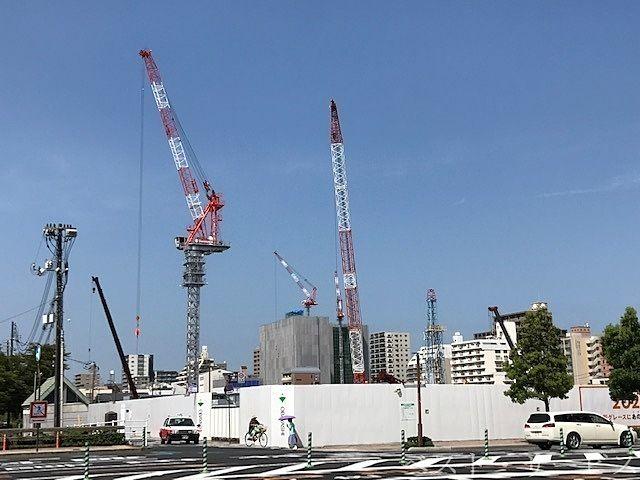 岡山市役所筋,下石井のイトーヨーカ堂跡地の再開発,まちづくりカンパニー,