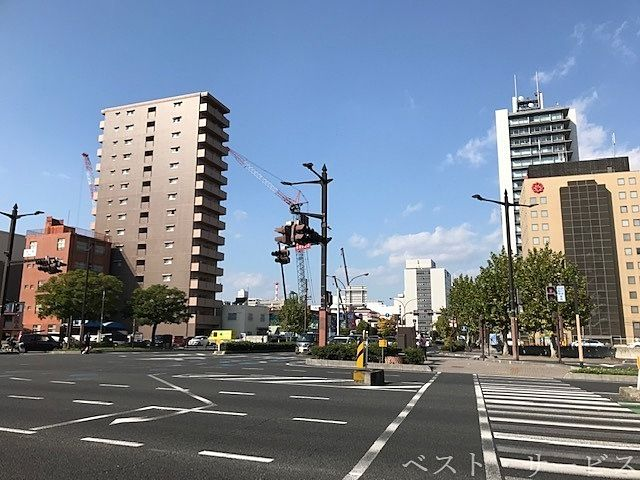 岡山市北区下石井2丁目,まちづくりカンパニー開発の様子,まちづくりカンパニー杜の街,まちづくりカンパニーのタワマン