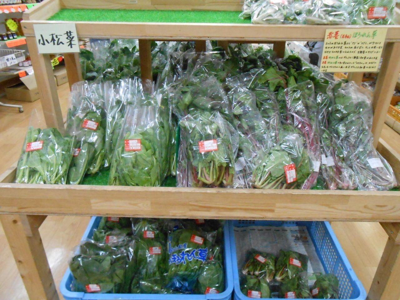 吉備中央町の新鮮野菜が奉還町で手に入ります