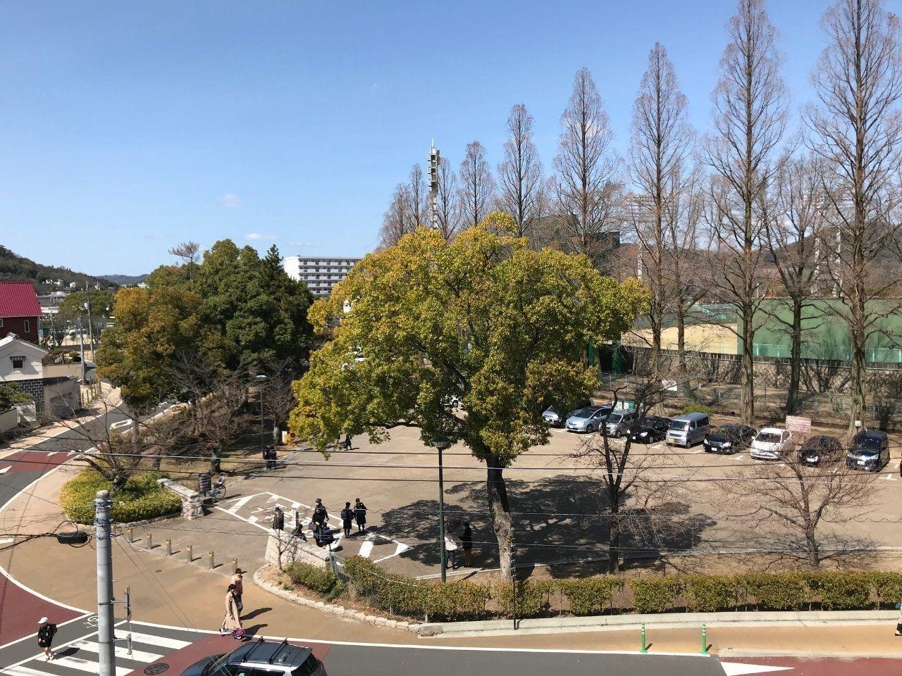 岡山市北区絵図町/岡山県営球場口