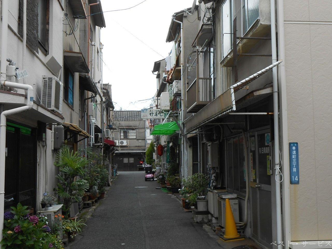 奉還町第1ビル~昭和のにおいのするビル