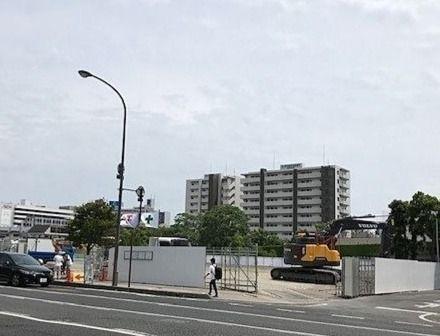 天満屋ハピーズ建設現場/昭和町再開発進捗①