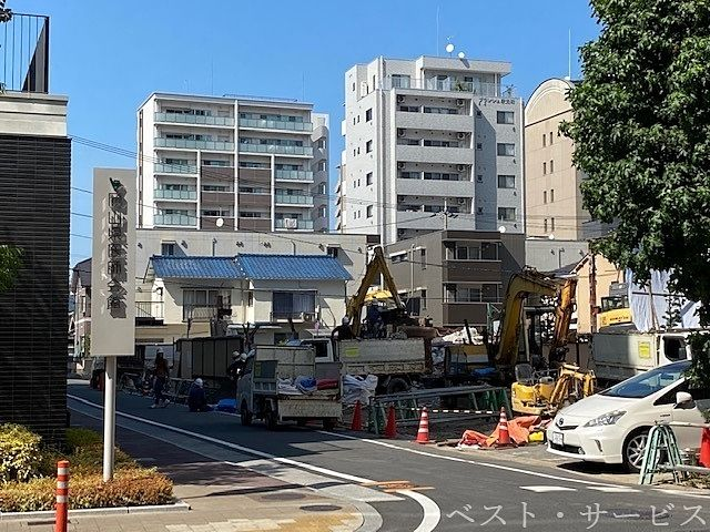 岡山市北区駅元町20,まつのき亭の解体