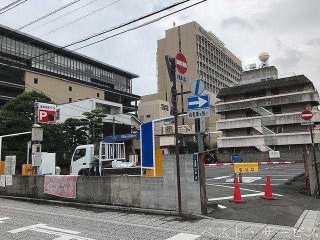 岡山市北区伊福町1丁目-2,岡山済生会総合病院外来センターの第2駐車場だったところ