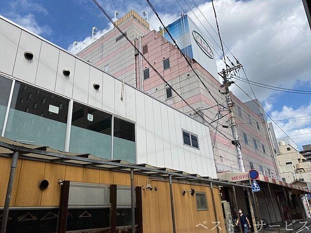 岡山駅前メルパ、岡山駅前再開発エリア