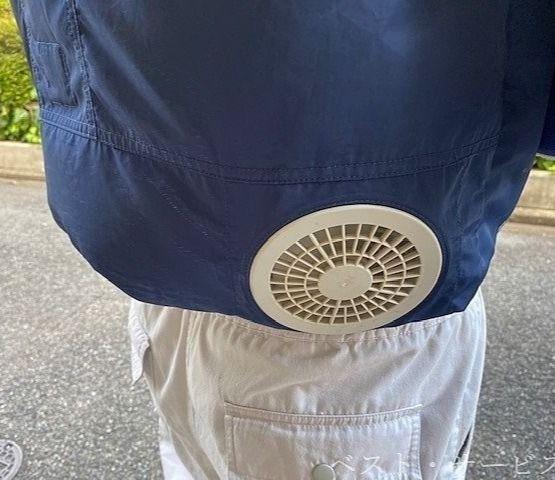 暑い夏を乗り切る快適なファン付作業服