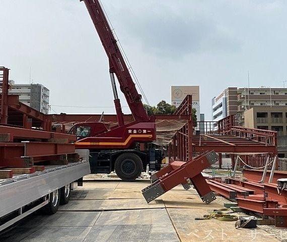 天満屋ハピーズ建設現場/昭和町再開発進捗②
