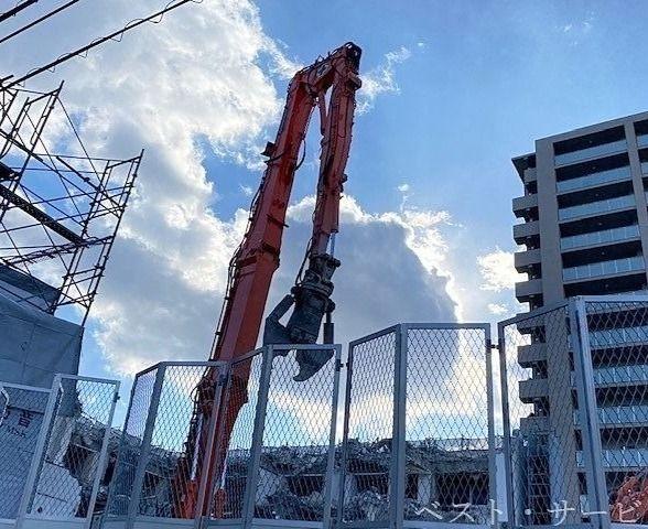 岡山奉還町中央病院解体進捗
