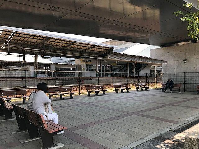 9番・10番ホーム<津山線/桃太郎・旧吉備線>側がよく見えます