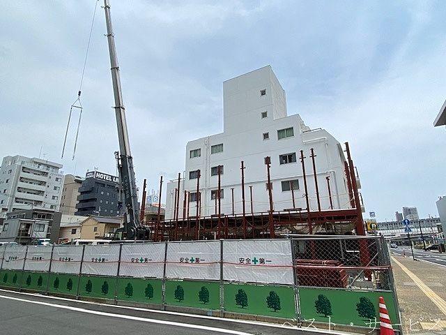 JR岡山駅西口前,トヨタレンタリース建設,トヨタレンタリース駅元町店,レンタカー