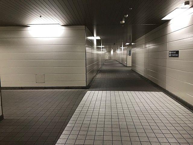 岡山駅西口の地下事情