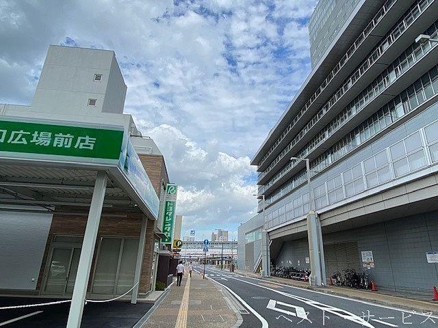トヨタレンタリース岡山駅西口広場前店,JR岡山駅西口徒歩1分