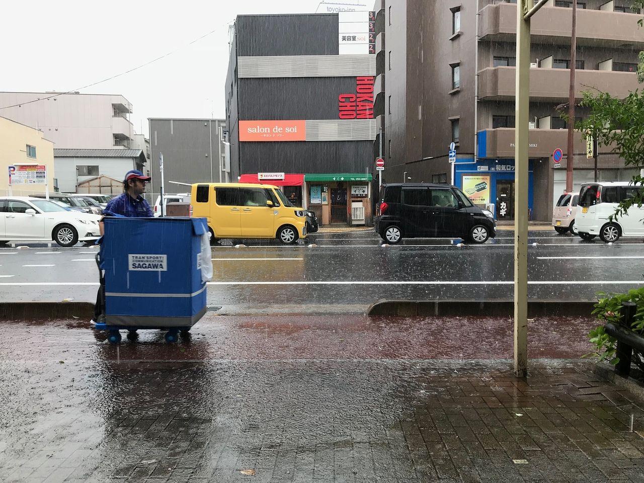 梅雨前線停滞中 大雨・洪水・土砂災害警戒中!