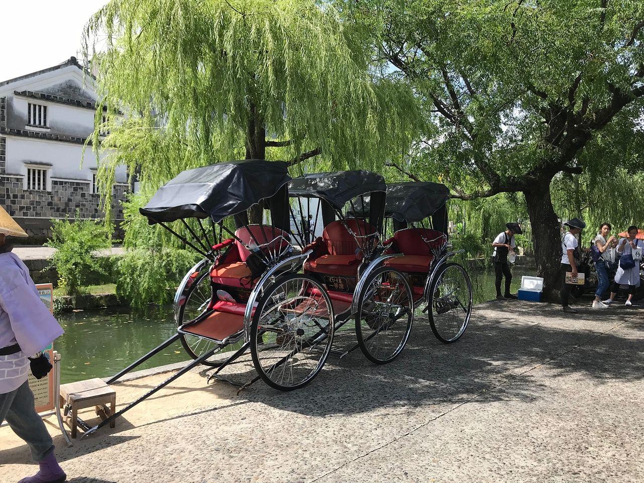 倉敷美観地区は暑くて熱い!