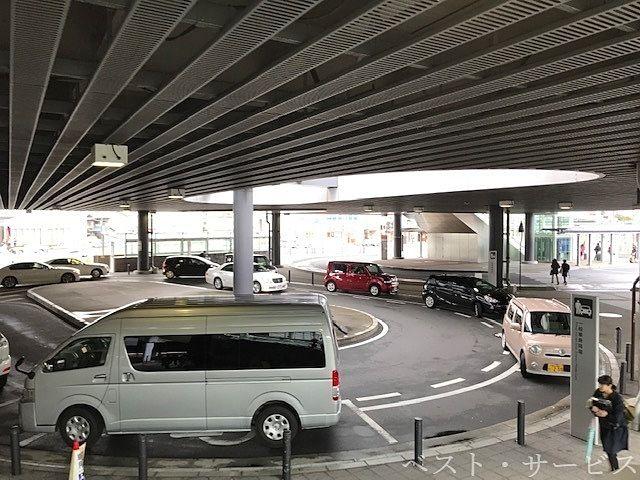 岡山市北区駅元町1,一般車のお迎え、お見送りのレーン