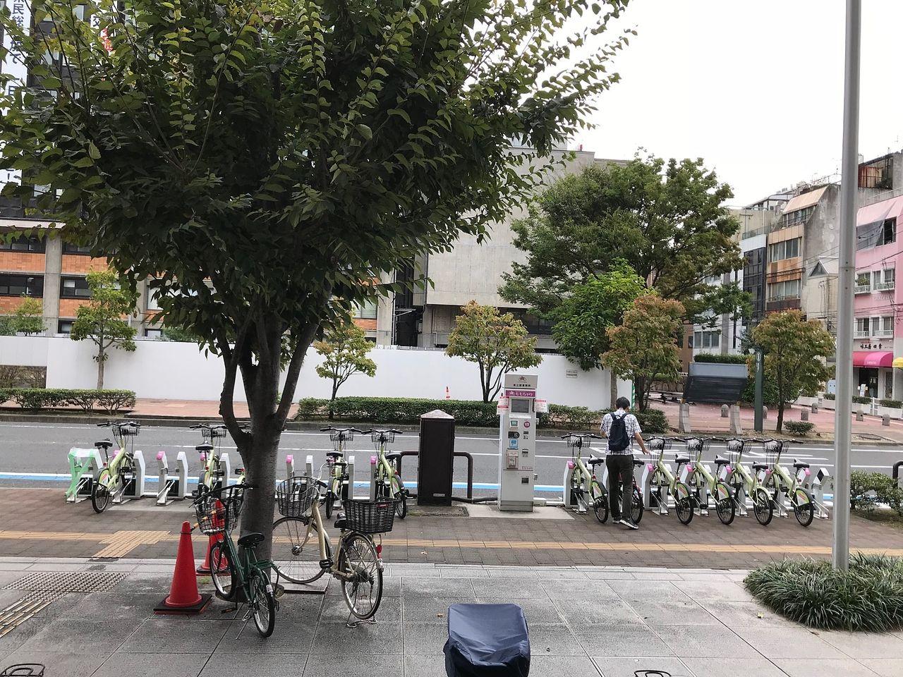 市内をめぐるのに便利なレンタルサイクル、しかもポートが市内の要所にあるので乗り捨てOK!