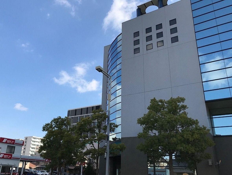 岡山市北区駅元町と寿町の境目