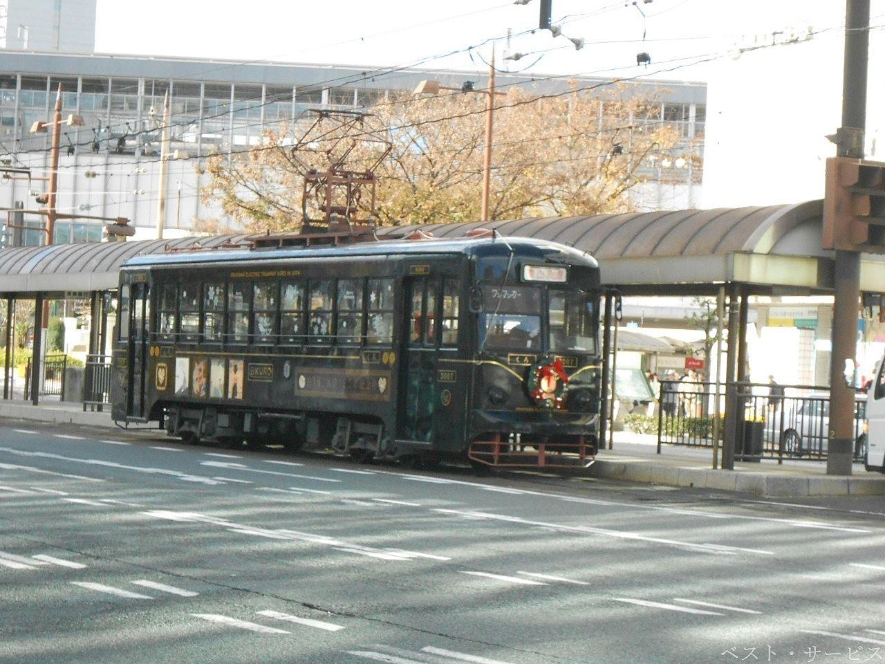 昭和44年より運行している最も古いタイプの電車のリニューアル版です