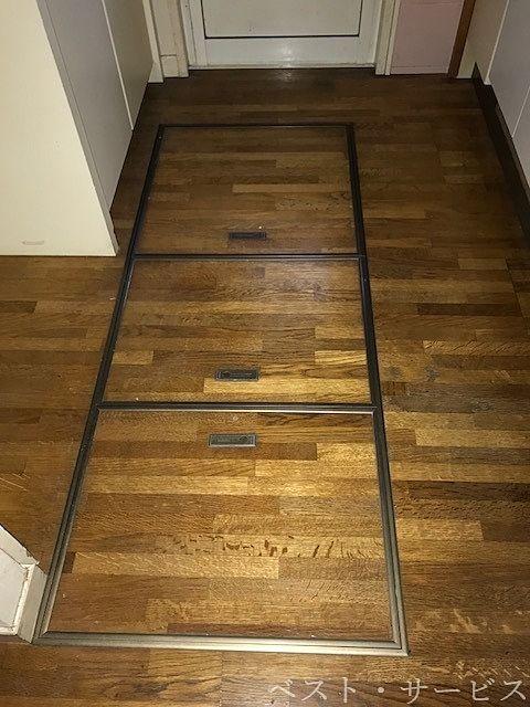 1階 キッチンの床下収納