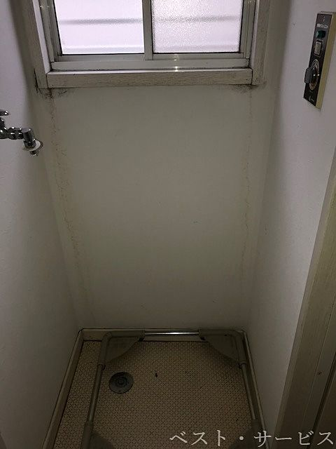 洗面脱衣所内 洗濯機置場