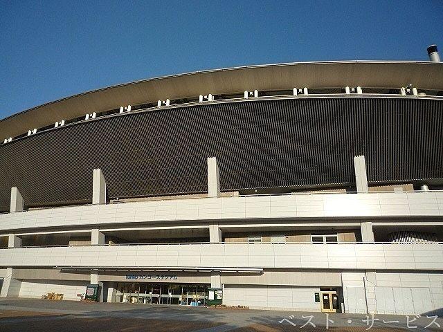 岡山県総合グラウンド 陸上競技場 徒歩6分(450m)