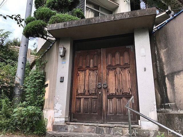 重厚感のある門扉