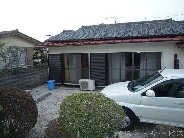 敷地内 庭 駐車スペース(建物南)