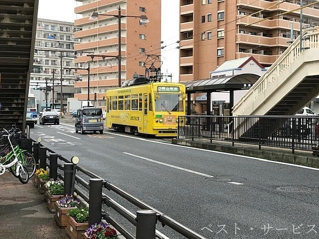 岡山電気軌道/清輝橋線/清輝橋駅(終点)徒歩7分