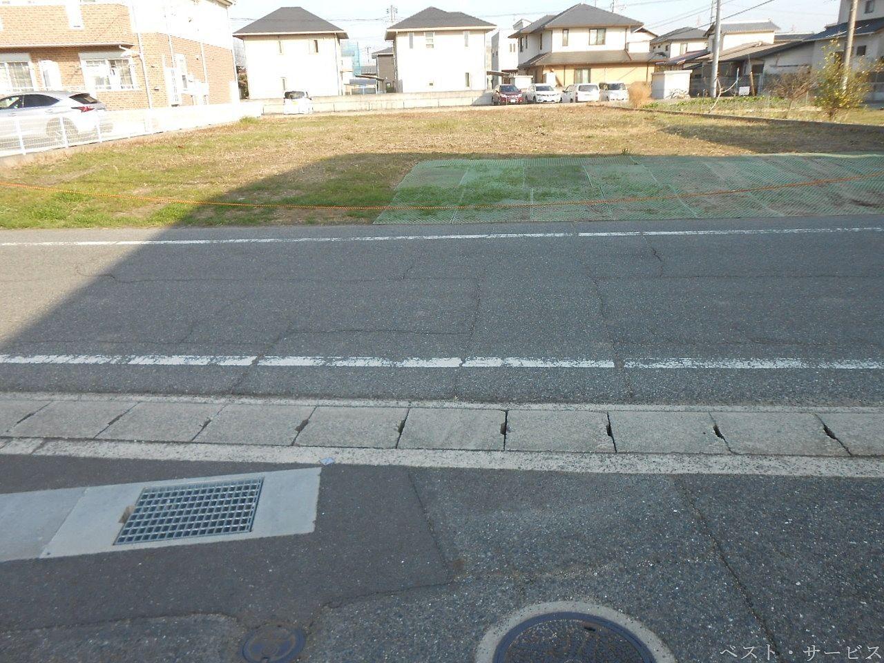 前面道路 市道 幅員6m に面する土地
